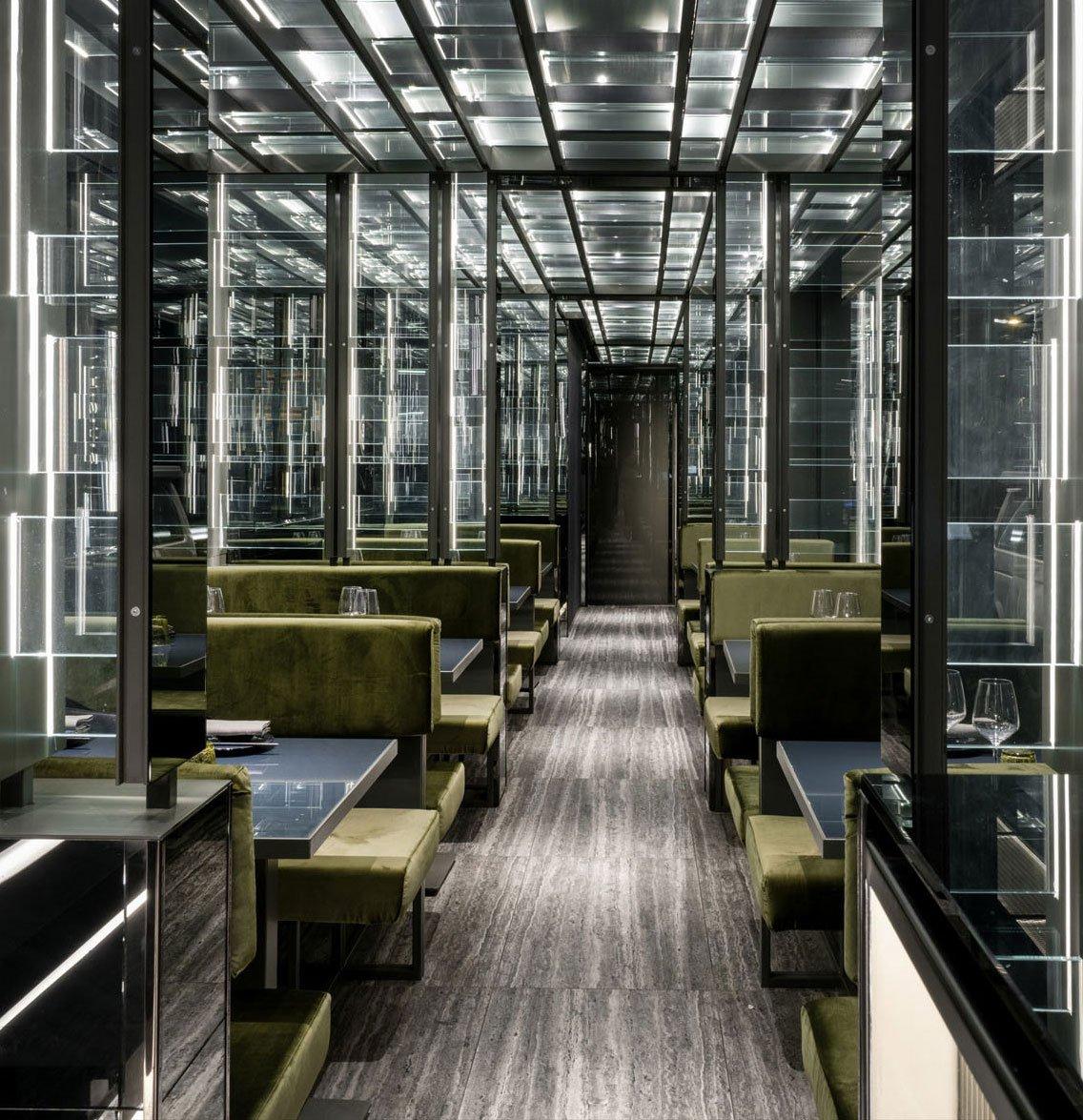 Die von Maurizio Lai gestalteten Sushi Clubs in der Brianza