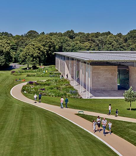 Zwischen Kunst und Sonnenlicht haben Kraaijvanger Architekten einen Filter gelegt
