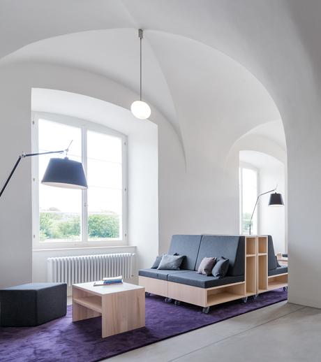 Umbau eines ehemaligen Benediktinerklosters nahe Zürich von Swissmade