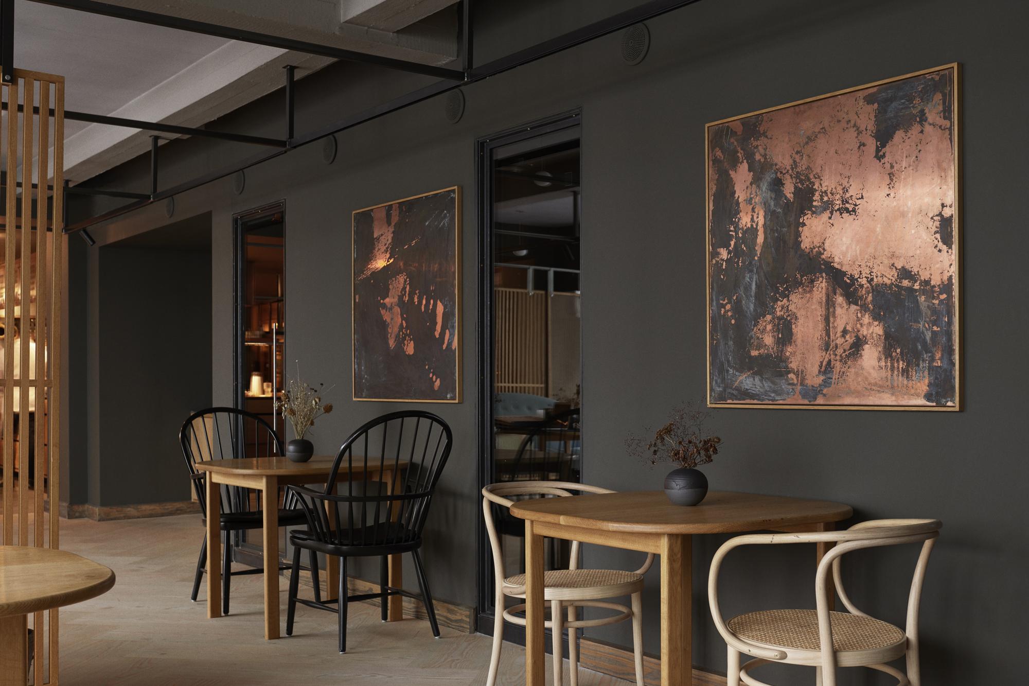 Neues Raumkonzept für Kopenhagener Sterne-Restaurant Kadeau von OEO Studio