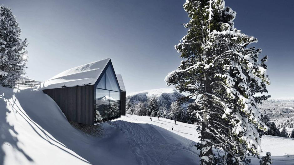 Berghütte Oberholz von Peter Pichler und Pavol Mikolajcak