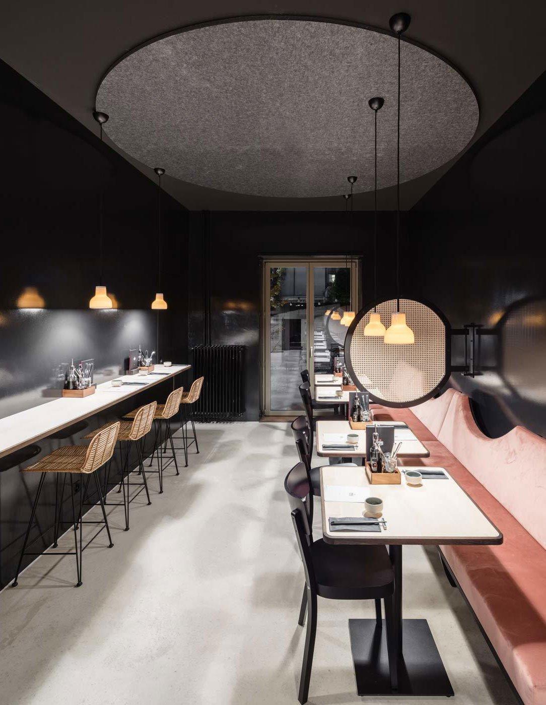 Chinesisches Restaurant in Basel von Stern Zürn Architekten