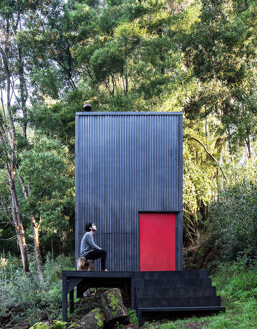 Chilenische Hütte von Estudio Diagonal