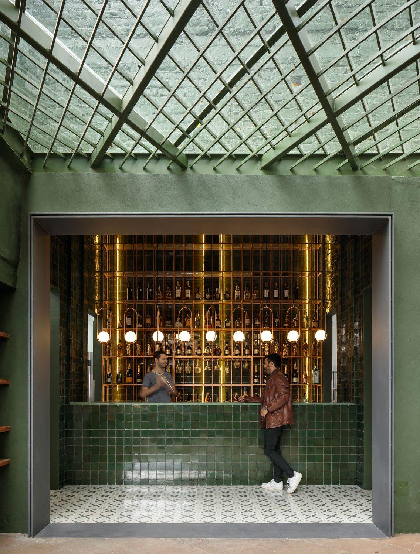 Restaurant Santomate von Architektin Daniela Bucio Sistos
