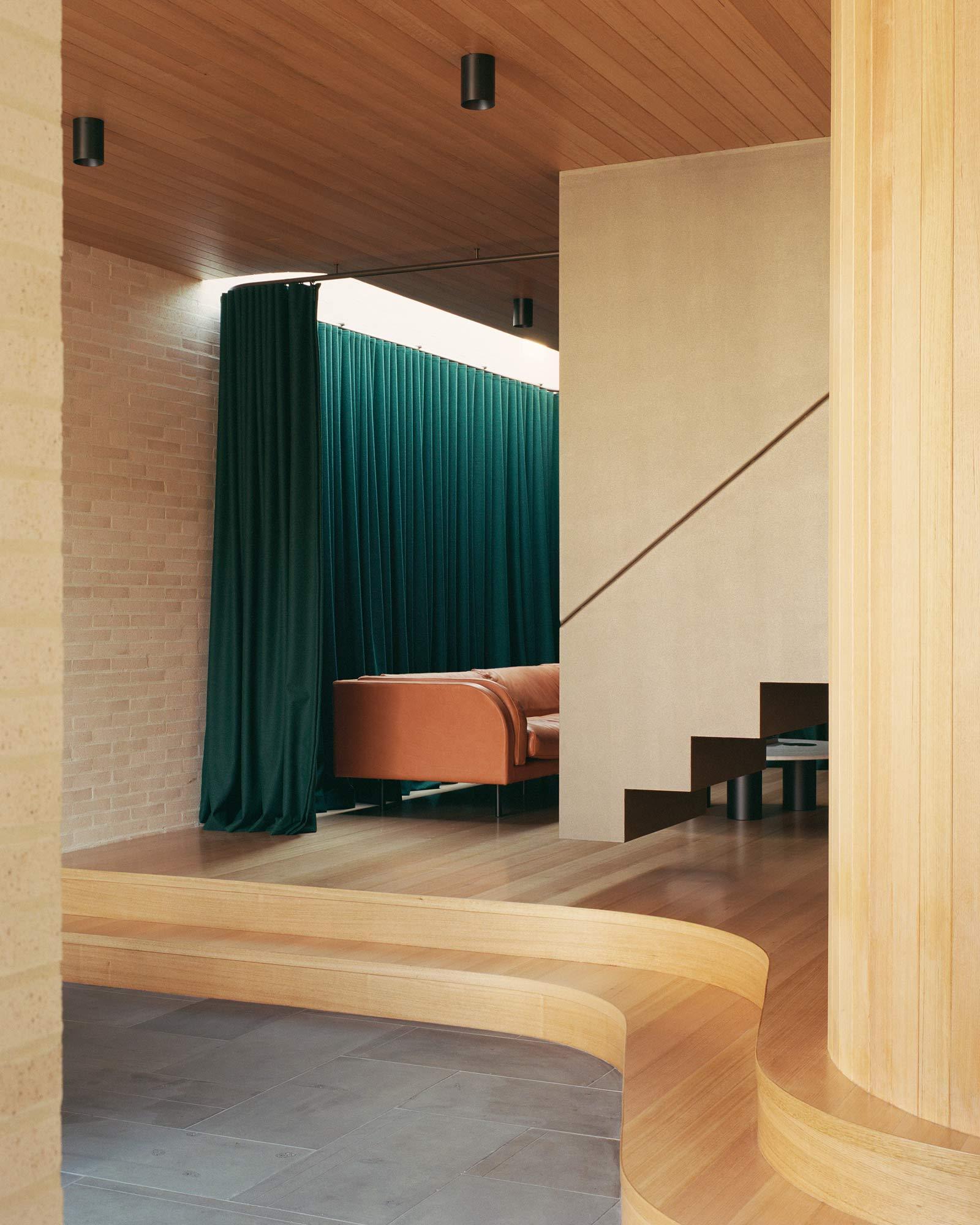 Anbau mit Pool in Melbourne von Studio Bright
