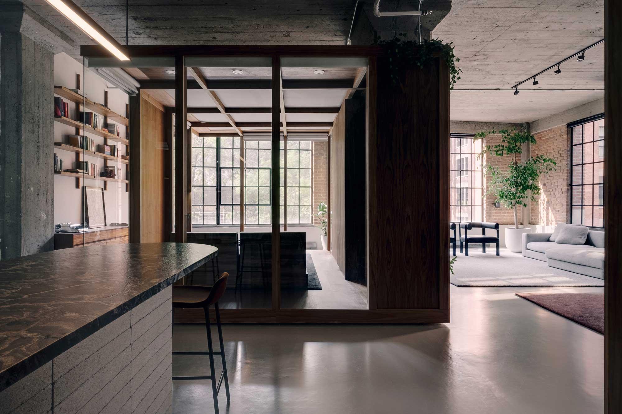 Familiendomizil in Montreal von Future Simple Studio