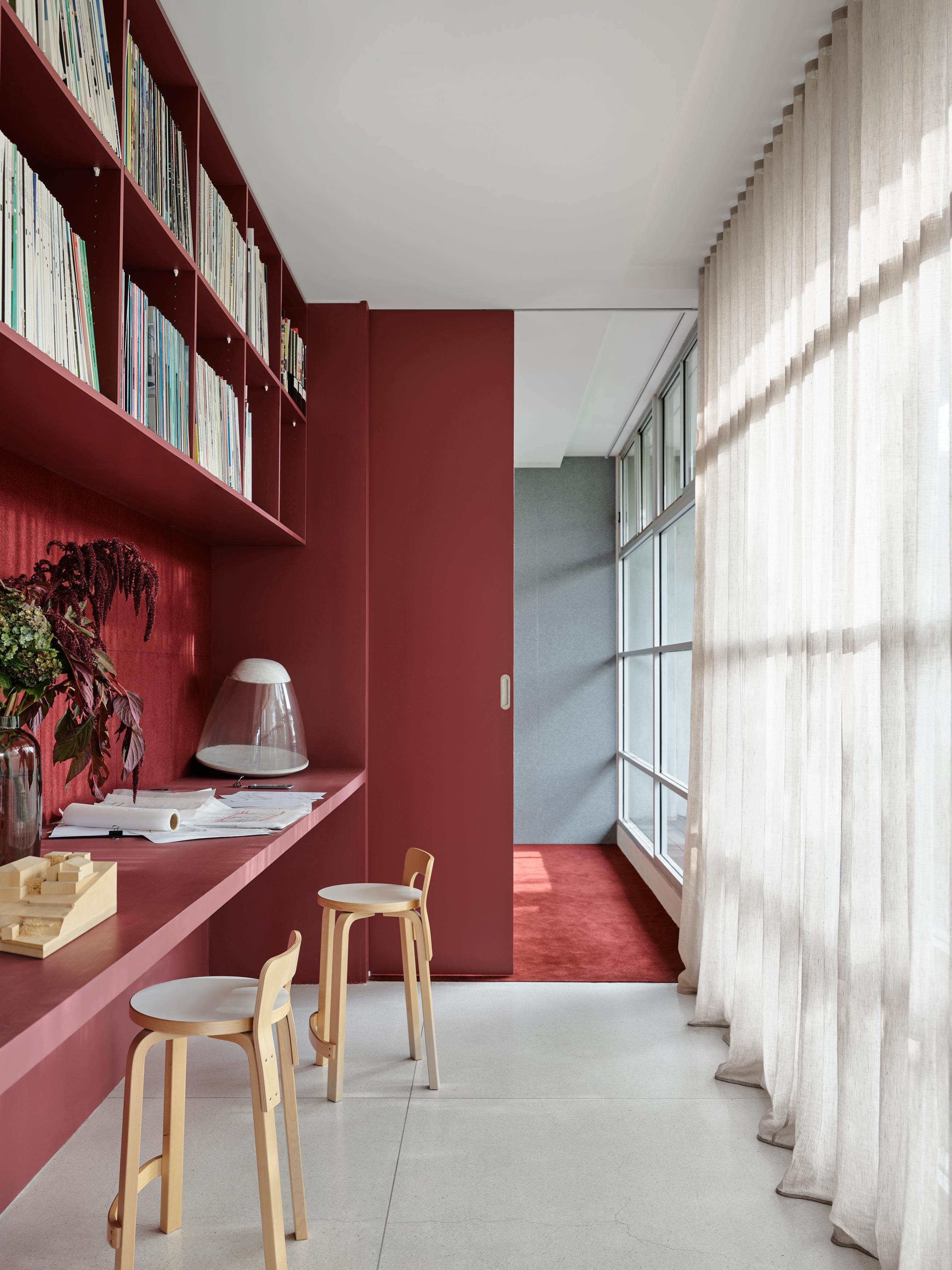 Die Räume des Architekturbüros SJB in Sydney gleichen einer Wohnung