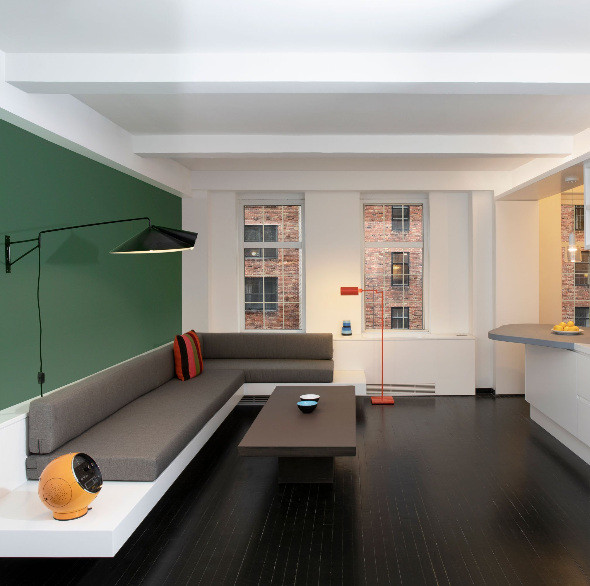 Pied-à-Terre in New York von Schütz | Windeck Architects