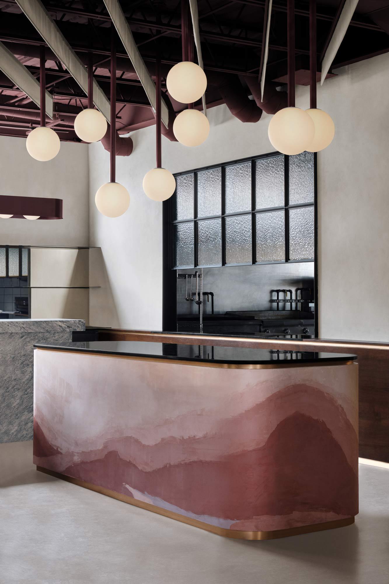 Restaurant Shay von Ivy Studio in Montreal