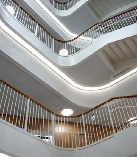 Das dänische Skou-Institut für Biomedizin von Cubo
