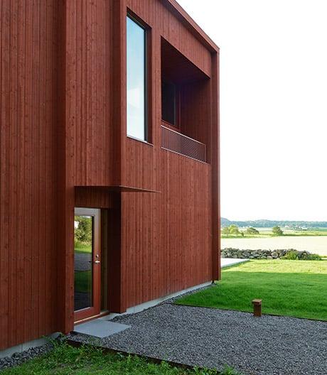 Dieses Haus von Bornstein Lyckefors funktioniert als perfekter Schallkörper