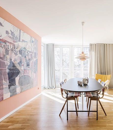 Eine Architektenwohnung in Münchens erstem Wohnhochhaus