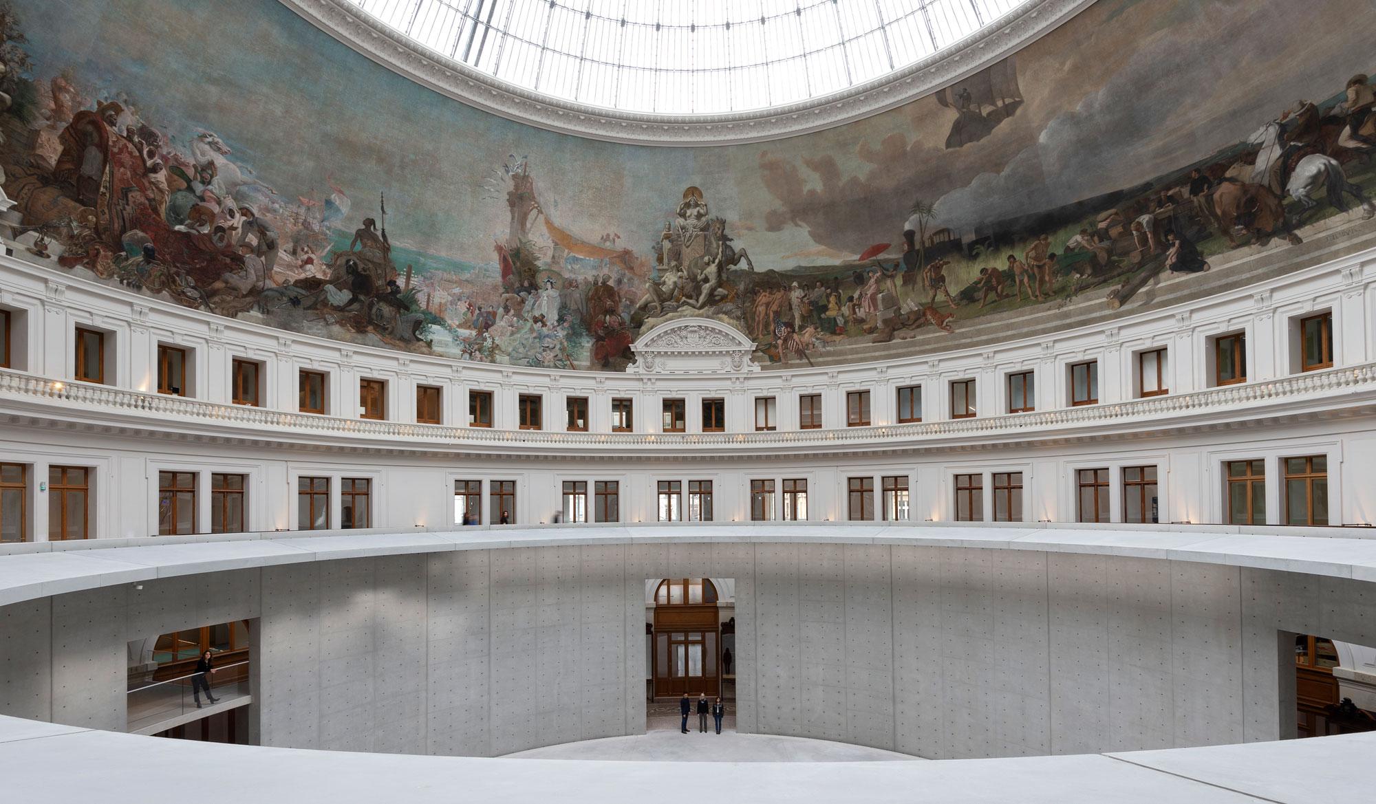 Tadao Ando verwandelt die Pariser Bourse de Commerce in ein Museum