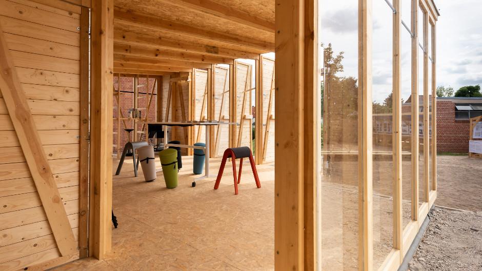 Die Universität Kassel rekonstruiert einen Bauhaus-Entwurf. Wilkhahn ist dabei