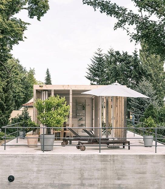 Gewohnt wird nach Saison: wandelbares Haus in Brandenburg