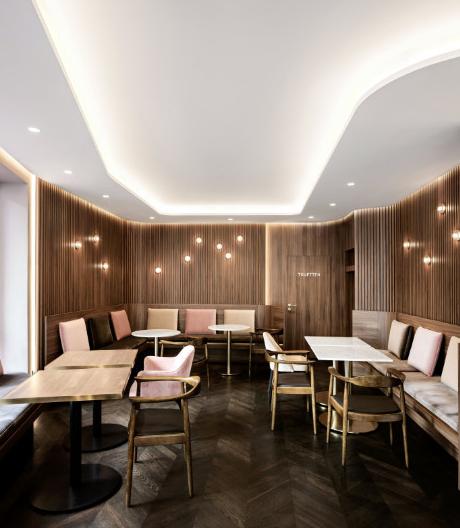 Eine Neuburger Bäckerei und Konditorei von Reimann Architecture
