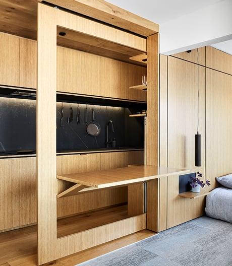 Mini-Apartment von Tsai Design im australischen Richmond