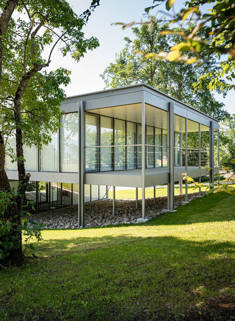 Sanierung des modularen Wohnhauses von Fritz Haller