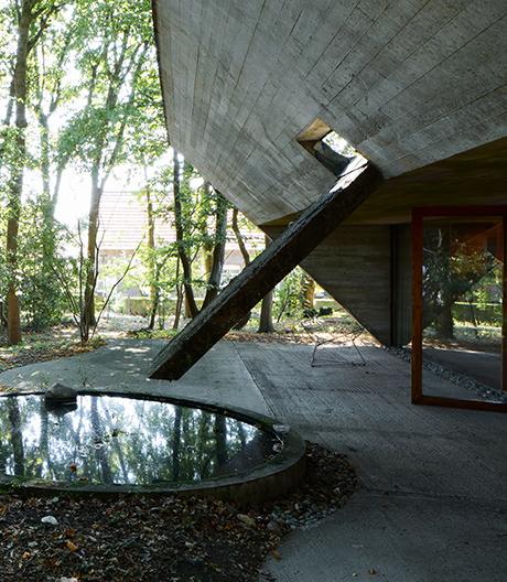 Van Wassenhove-Haus vonJuliaan Lampens bei Gent