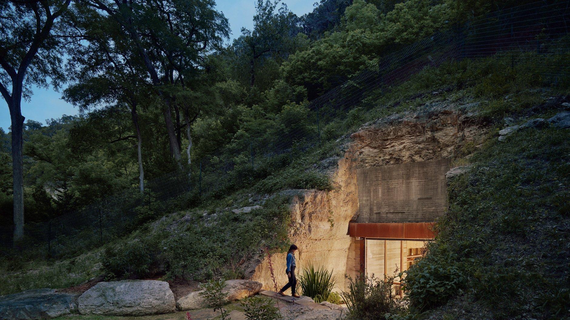 Eine texanische Höhle für Sommeliers und Eremiten