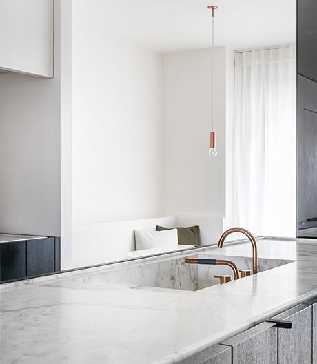 Frederic Kielemoes gestaltet minimalistisches Interior in Gent