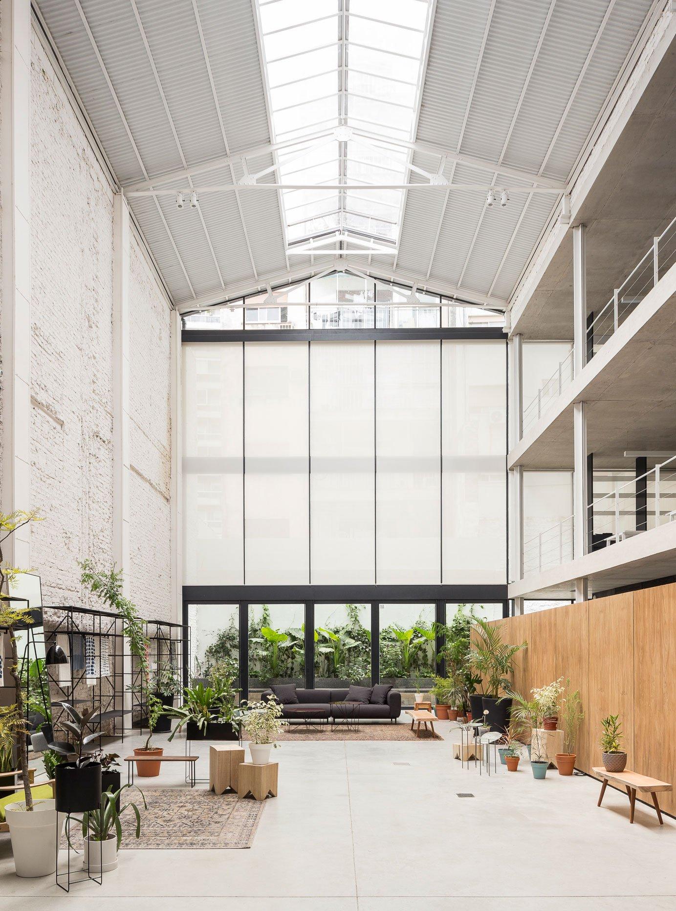Umbau einer Lagerhalle in Buenos Aires zur Bürolobby