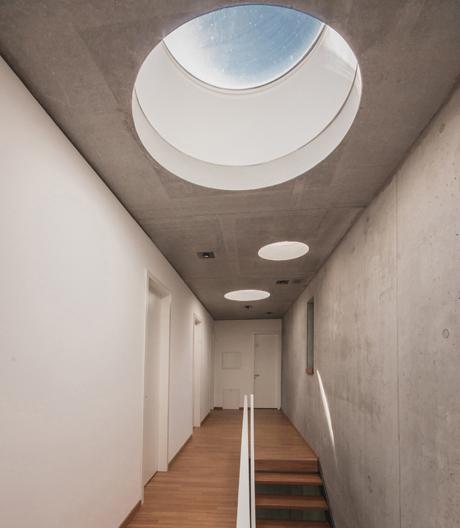 Intelligentes Einfamilienhaus von Peter Ruge Architekten