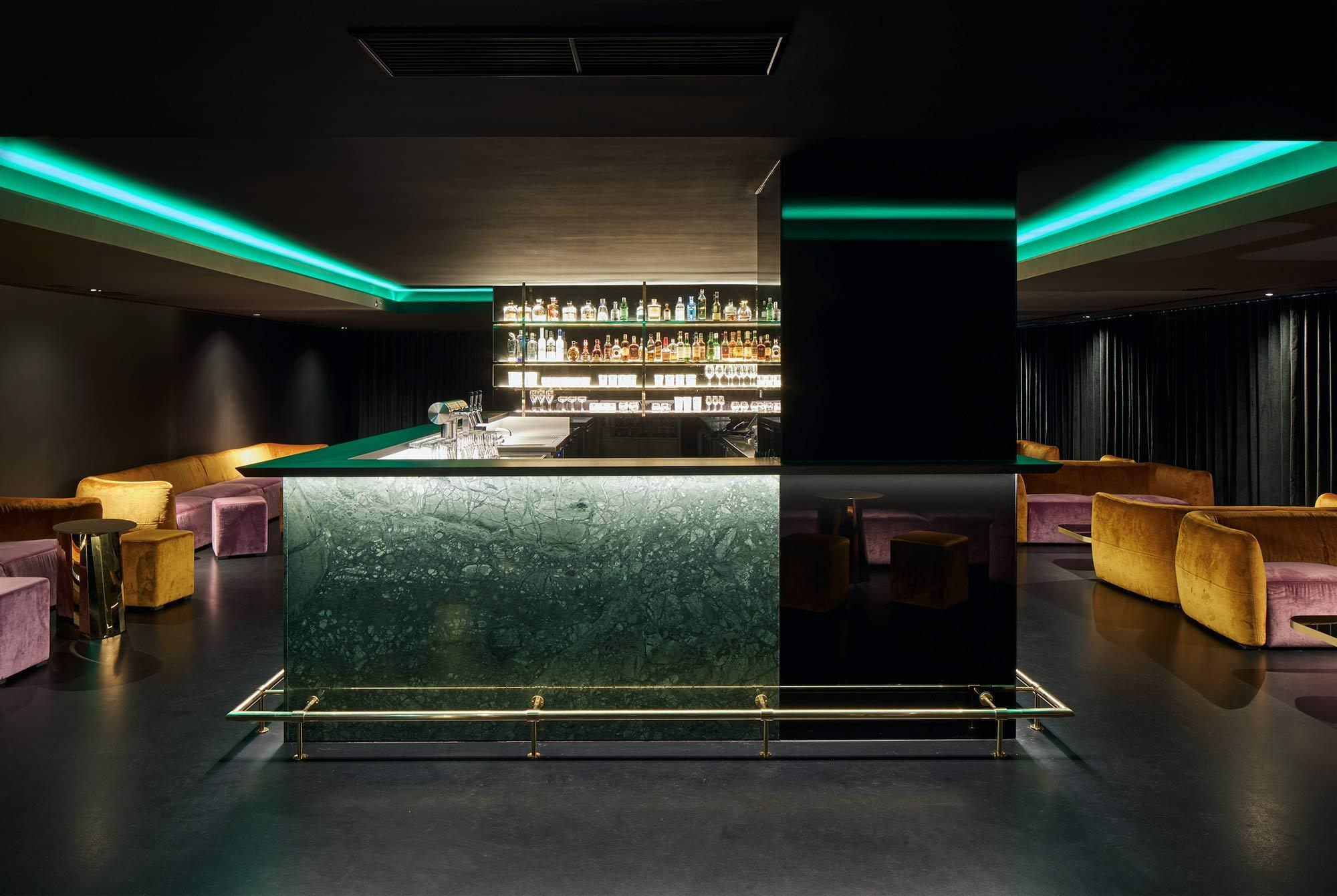 Umbau der Berliner New York Bar von Tanja Lincke Architekten