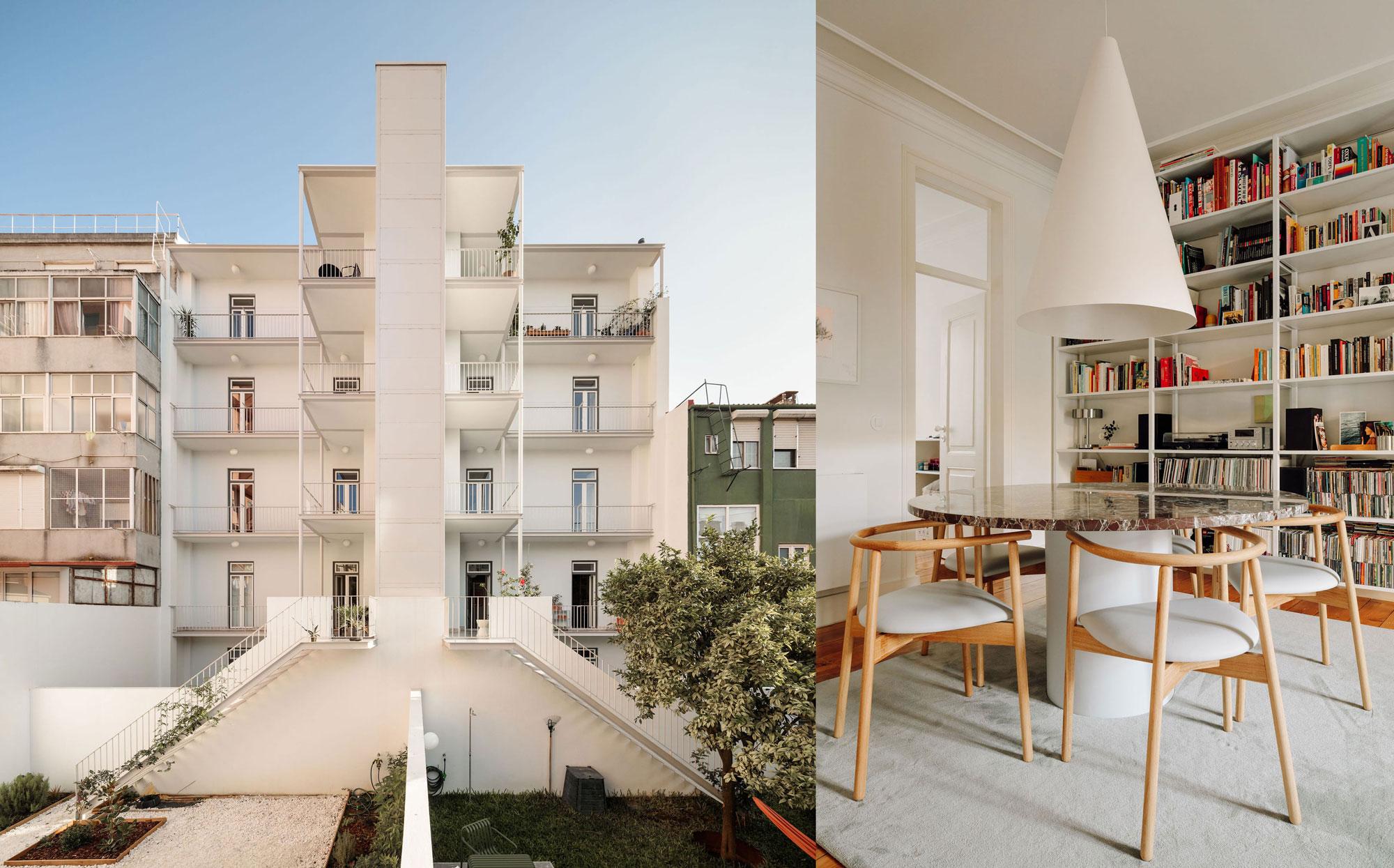 Vorbildliches Restaurierungsprojekt in Lissabon von rar.studio