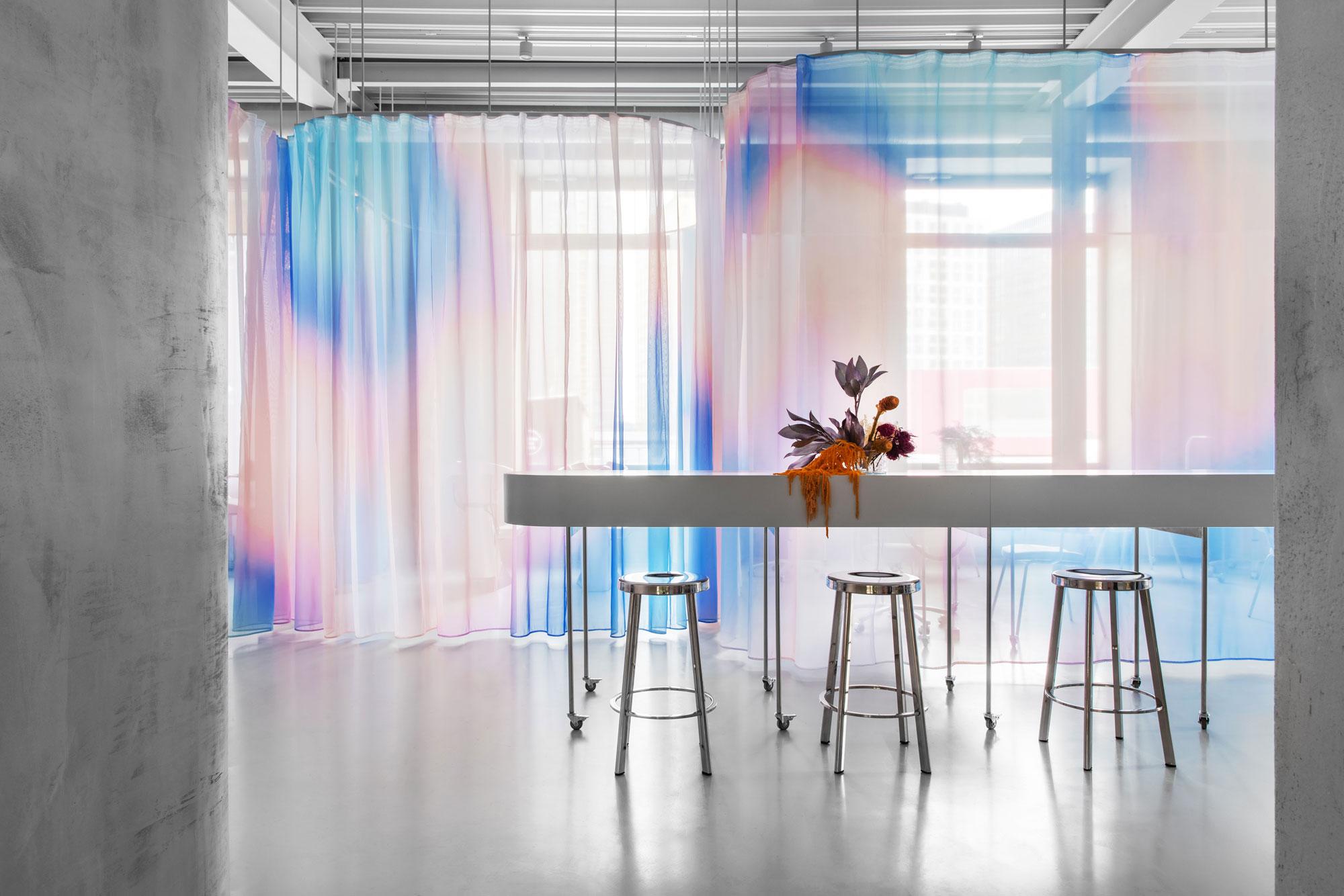 Co-Working-Space für Stylisten in Moskau