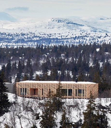 Refugium der Architekten Mork-Ulnes in Norwegen