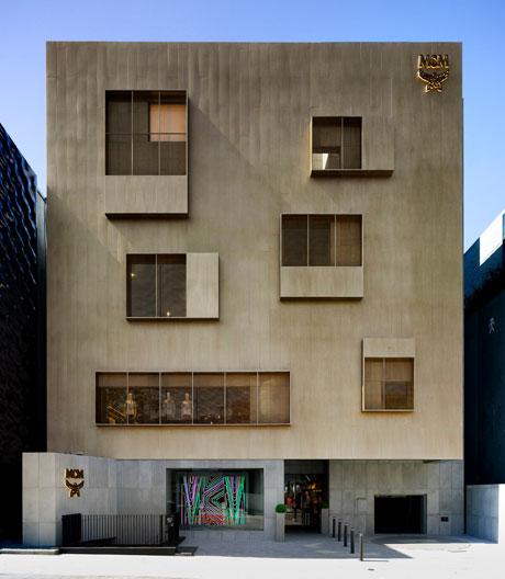Galerie König im MCM Haus von Neri & Hu