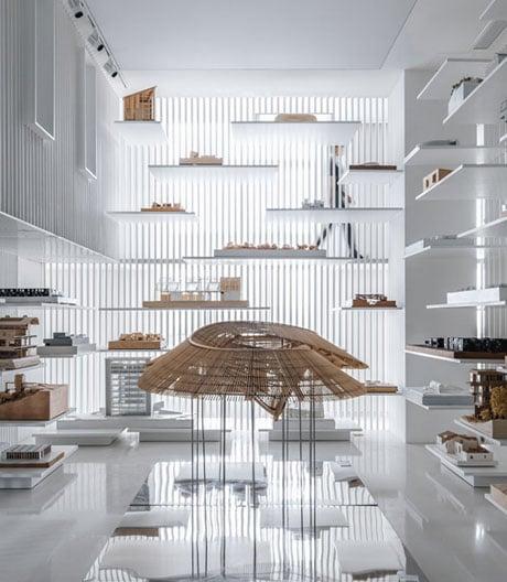 Ein Museum für Architekturmodelle in Shanghai