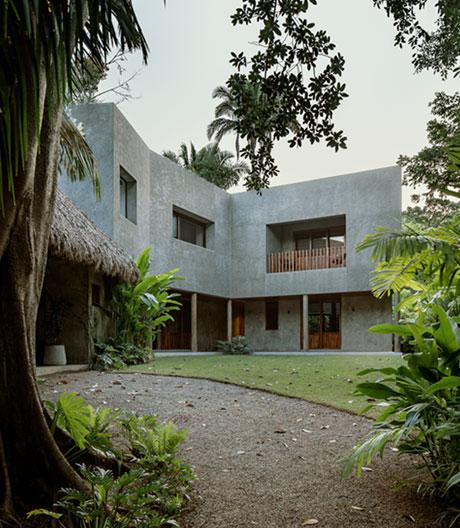 Einfamilienhaus von COA arquitectura an der mexikanischen Pazifikküste