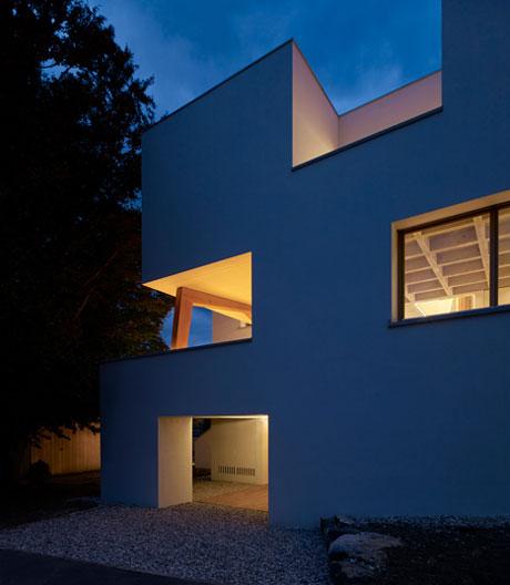 Ein Einfamilienhausvon Baumschlager Eberle Architekten in Vaduz
