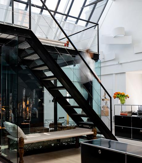 Ein Dachgeschossumbau in New York von Ghiora Aharoni