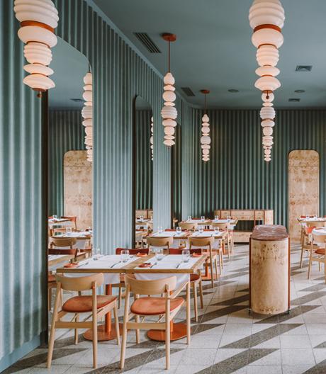 Neuer Hotspot in Warschau: das Restaurant Opasly Tom von Buck.Studio.