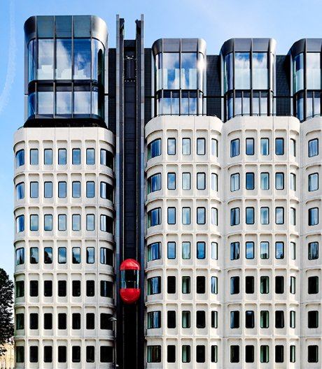 Londoner Bürokomplex wird zum Hotel