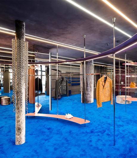 Neue MCM-Boutique in München von Gonzalez Haase AAS