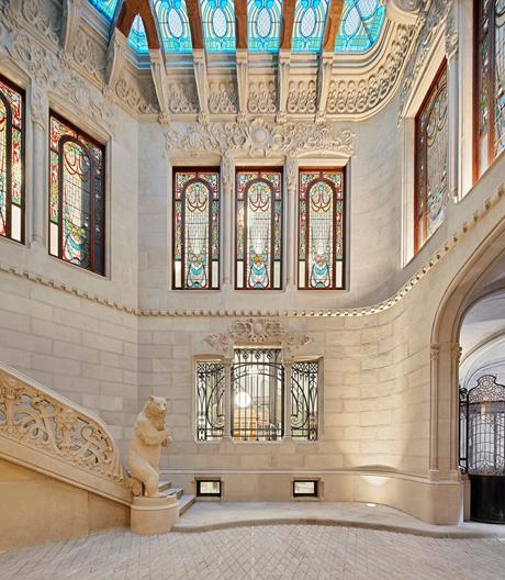 Ein Meisterwerk des Gaudí-Schülers Francesc Berenguer i Mestres