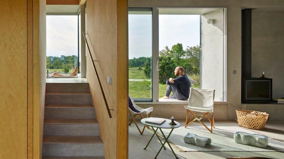 Collectif Encore realisiert ein unprätentiöses Haus in Schweden