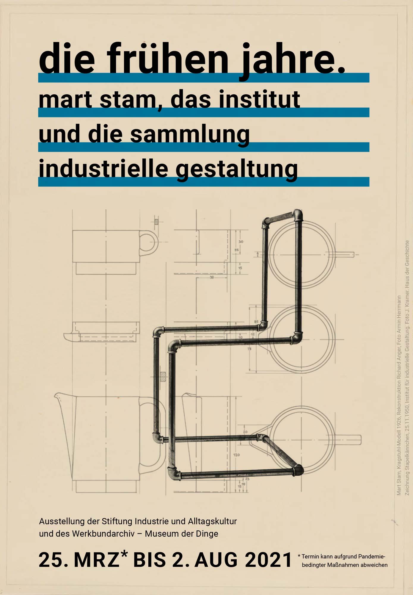 Ausstellung zu Mart Stams Schaffenszeit in der DDR