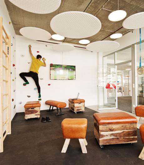 Eine Studie des Fraunhofer Instituts zeigt, welche Effekte die Bürogestaltung auf die Arbeit hat.