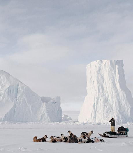 Dünnes Eis: Henrik Saxgren dokumentiert den nördlichsten Punkt vor dem Ende der Welt.