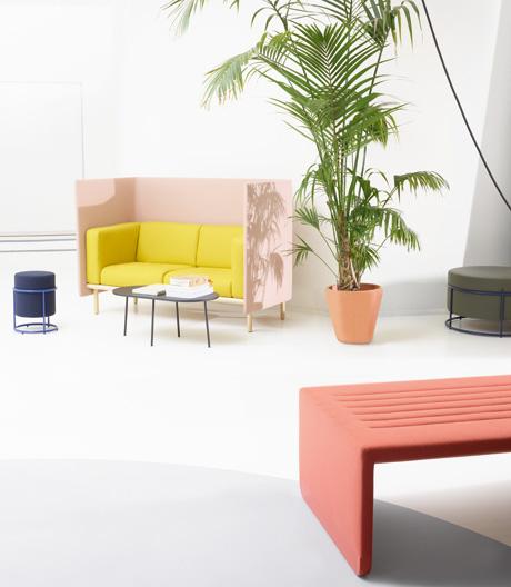 Vier Designteams für den wohnlichen Workspace