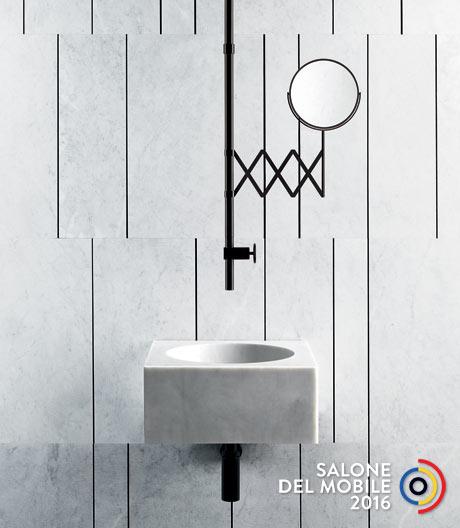 Ein Faible für von der Natur inspirierte Oberflächen macht sich als sichtbare Entwicklung im Badezimmer bemerkbar.