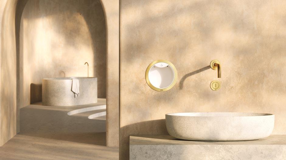 Lösungen von Vola für ein Händewaschen ohne Ansteckungsrisiko