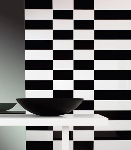 Schwarz-weiße Kombinationen erleben ein Revival im Interiordesign