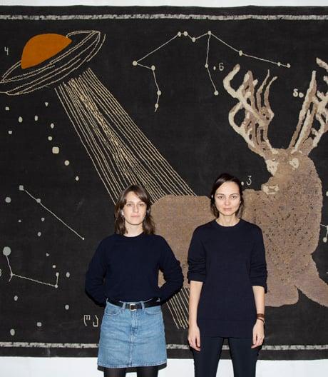Designerinnen Nata Janberidze und Keti Toloraia