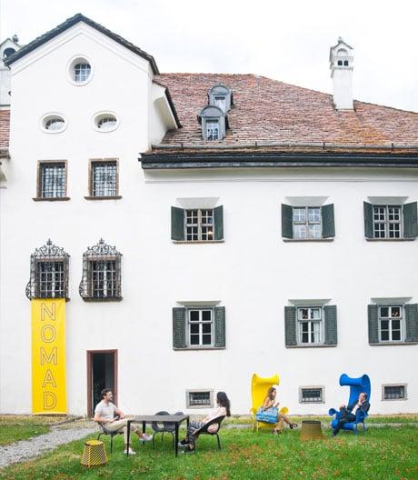 Designmesse Nomad im größten Engadiner Patrizierhaus